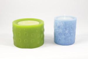 candele cilindriche profumate