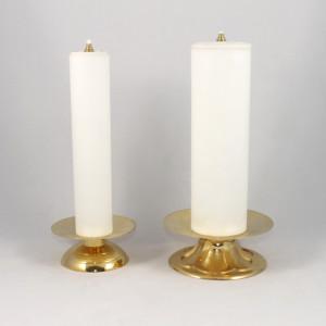 finte candele di varie dimensioni