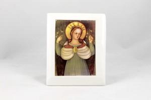 Serigrafia su ceramica Beata Vergine delle Grazie..