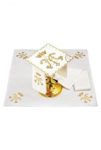 servizio-messa-ricamato-simbolo-mariano-oro
